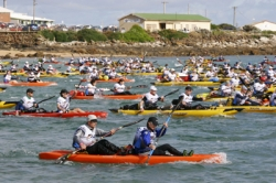 The start of the 2011 World Championships