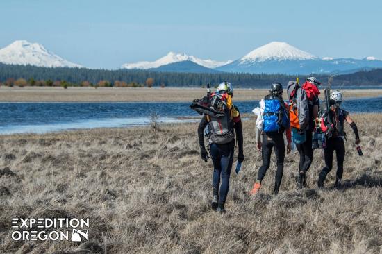 Packrafting at Expedition Oregon