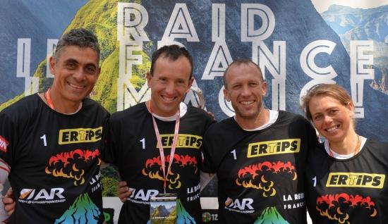 Team Aveya, World Championship winners on Reunion Island