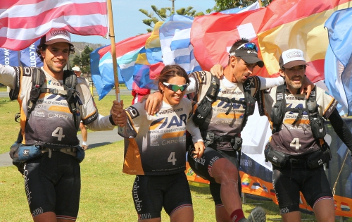 Teamwork is an essential part of adventure racing