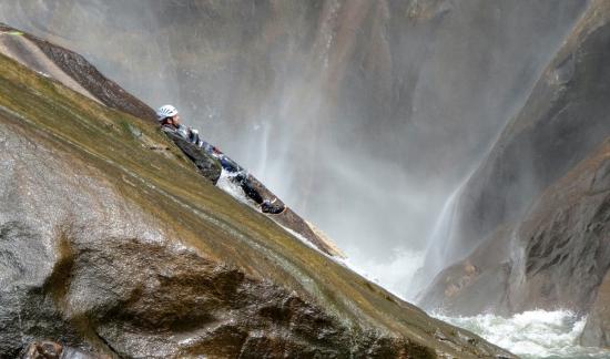Canyoning at Raid Gallaecia