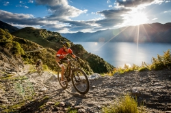 Red Bull Defiance Competitors Above Wanaka
