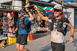 Sandes and Griesel complete their Great Himalayan Trail Run