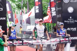 Braden Currie at Ironman Cebu in the Philippines