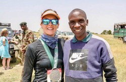 Racing in Kenya For Rangers