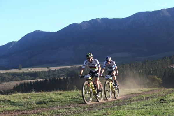 Nino Shurter and Lars Forster