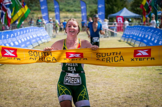 Hayley Preen Wins XTERRA South African Championships