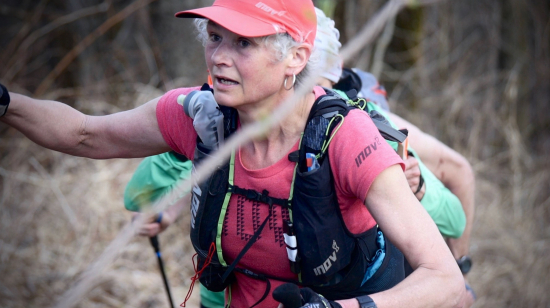 Nicky Spinks at the Barkley Marathons