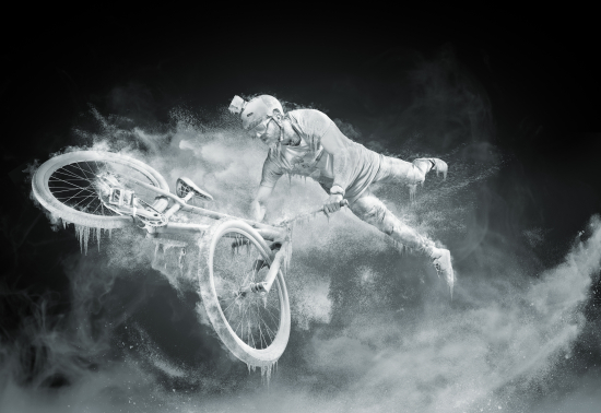 One of the winning shots from this year's Red Bull Illume