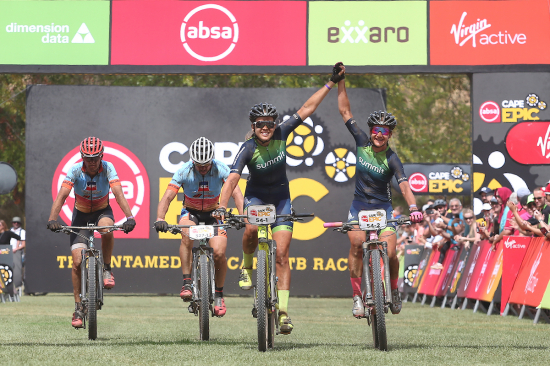 Candice Lilli is a proven winner at ABSA Cape Epic
