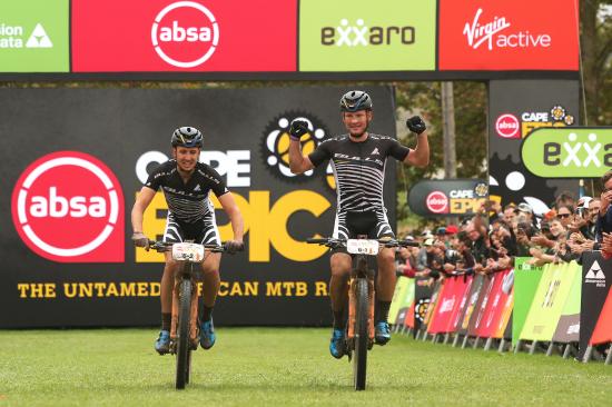 Urs Huber and Simon Stiebjahn will race as BULLS Heroes