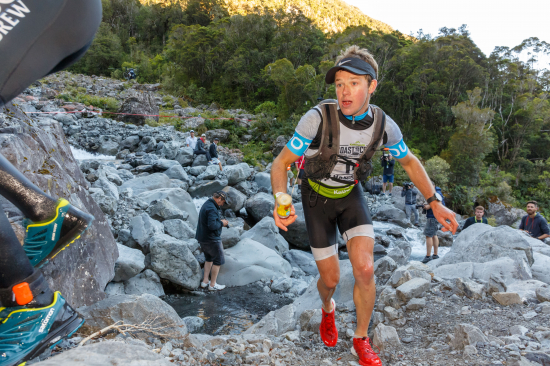 Hamish Elliott during the Mountain Run of the 2018 Kathmandu Coast to Coast