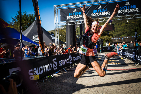 Judith Wyder - 1st in Salomon Ring of Steall 2019