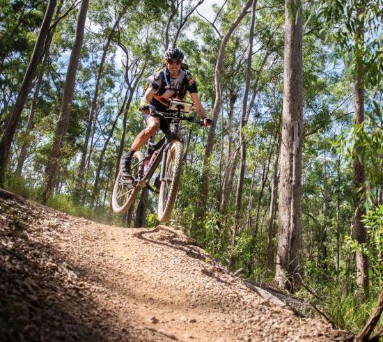 Mountain biking is part of the Rogue Raid