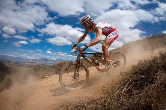 Florian Vogel at the 2010 ABSA Cape Epic