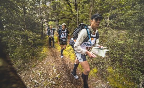 GODZone competitors in the fiordland bush