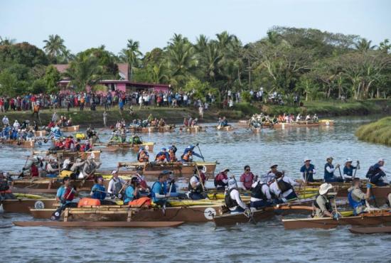 The start of Eco-Challenge Fiji 2019