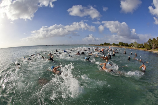 An ocean swim will be part of the Leeuwin Long Course