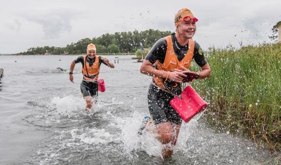 Racing the Utö Swimrun on the island where the sport began