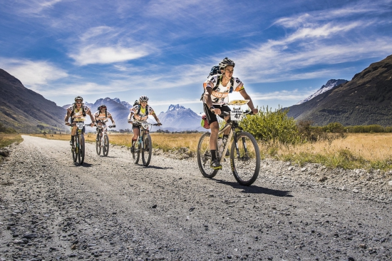 Teams cycling at the GODZone Adventure Race