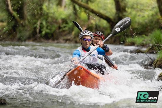 Kayaking at Raid Gallaecia