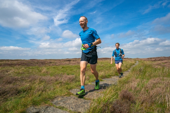 Damian Hall on his Pennine Way record attempt