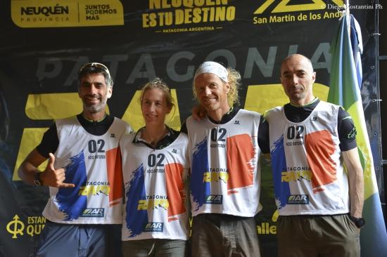 Team 400 Naturex, the new #1 world ranked team, at the Patagonia Raid 2020
