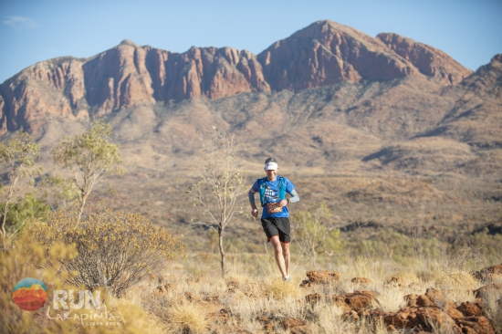 In the Red Centre on the Run Larapinta Stage Race