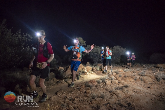 Into the night on the Larapinta Stage Race
