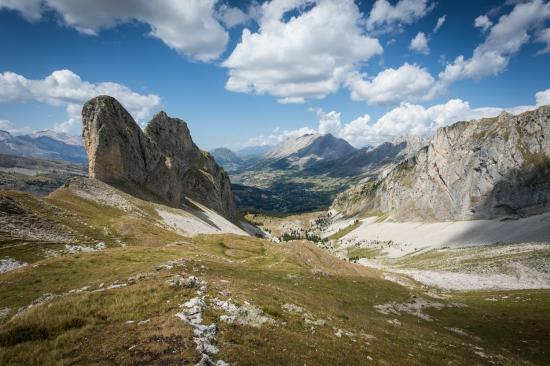 Hautes-Alpes scenery which will inspire Sud Raid competitors