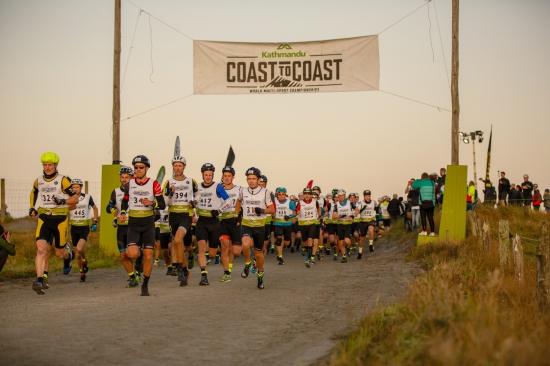 Start line for the Kathmandu Coast to Coast