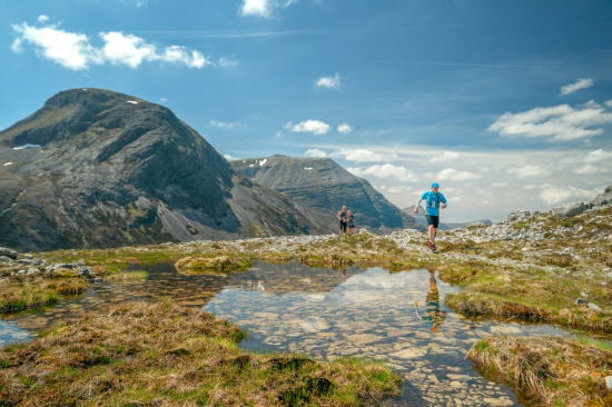 High in the Highlands on the Cape Wrath Ultra