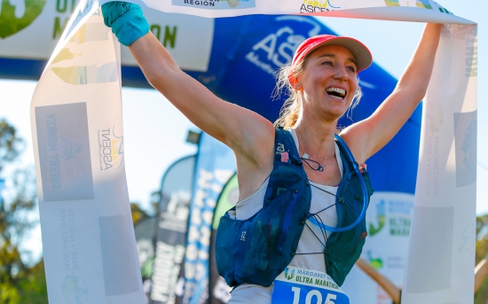 Claire O'Brien-Smith - Female overall winner 2020