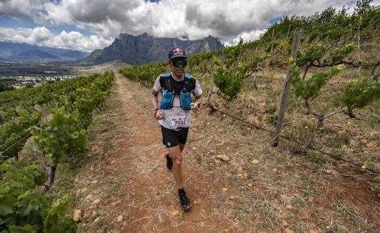 Running the K-Way MaxiRace Cape Winelands Ultra