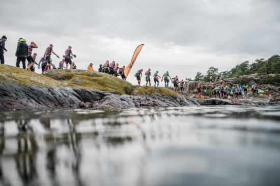 Racing at ÖTILLÖ The Swimrun World Championship