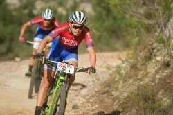 Candice Lill in action at the ABSA Cape Epic