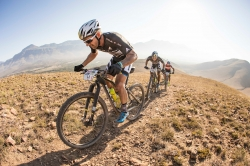 Karl Platt and Urs Huber take the lead at ABSA Cape Epic 2017