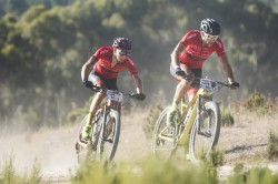 Racing at ABSA Cape Epic