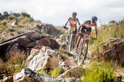 Riding the Queen Stage at the 2018 ABSA Cape Epic