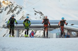 Ready to race to the summit of Mount Elbrus
