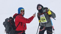 In the cloud on Elbrus for the Speed Ascent