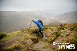 On the MONTANE Spine Challenger Race