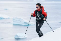 Racing in Antarctica saw Australian Jacqui Bell knock off her fourth continent