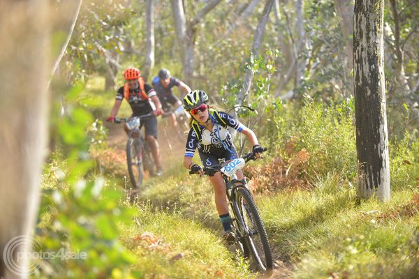Riding the XC Route at Bike Buller