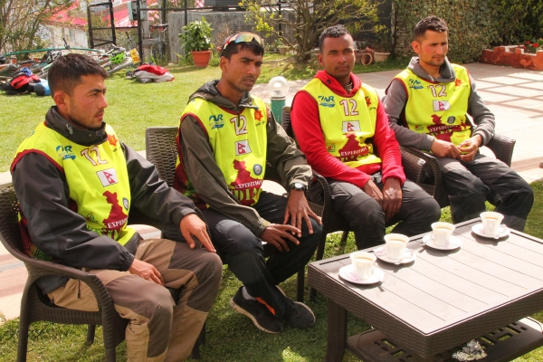 The Nepali Army Team