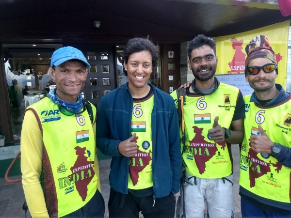 Team Himalayan Baby Wolf - Proud Finishers