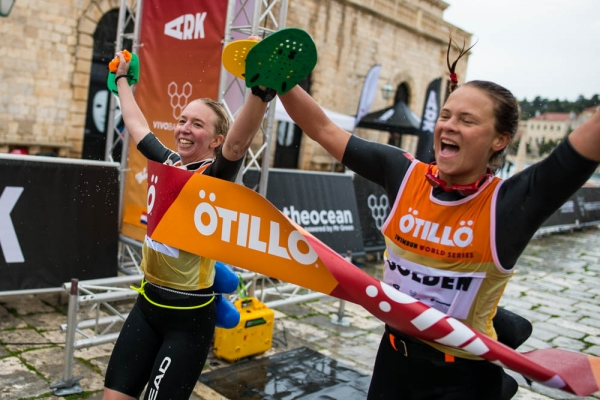 Delighted to cross the finish line at Otillo Hvar