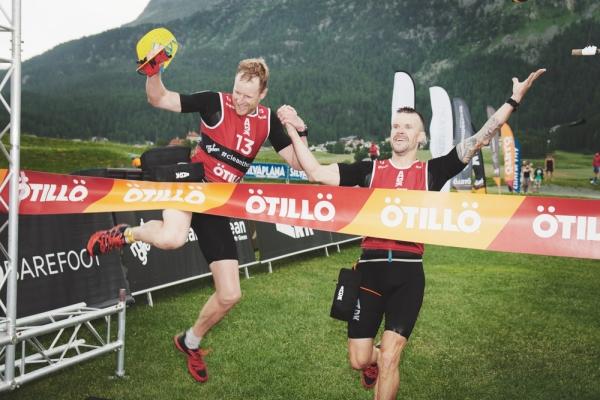 Race winners Joakim Brunzell & Johan Carlsson