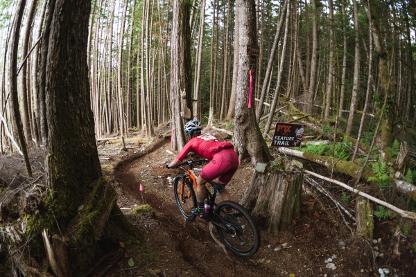 Riding stage 4 at Powell River