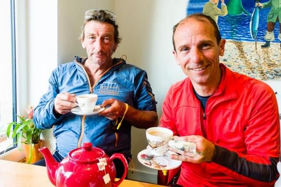 Eddie Winthorpe (R) and Joe Faulkner from the Nav4 - JRP Team